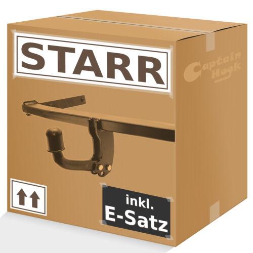 Gancio di traino Starr CITROEN XSARA PICASSO 2000//2010 13-pol e-frase