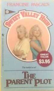 Francine-Pascal-039-s-Sweet-Valley-High-67-The-Parent-Plot-good-used-cond-paperback