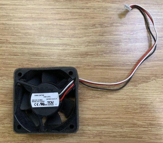 D06K-24TS8 02B (AX) Nidec BETA SL Brother MFC-8480DN Printer 24V DC Cooling  Fan
