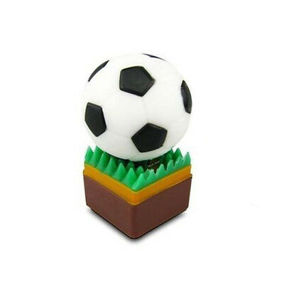 Soccer Sport Ball Novelty 4GB USB Flash Drive 2.0 Memory Storage 4 GB