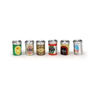 Set of 4 Miniature Dollhouse Fairy Garden Metal Beer Mugs Buy 3 Save $5