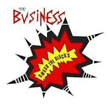 The Business Smash The Disco's CD+Bonus Tracks NEW SEALED Punk Oi! Skinhead