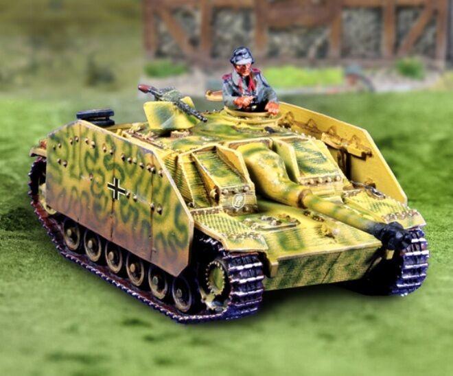 Die Sammler Schaufenster WW2 Deutsch Rüstung CBG025 Sturmgeschutz Tank Set MIB