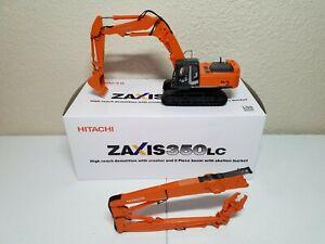 Hitachi-Zaxis-350LC-High-Reach-Demolition-Excavator-1-50-Scale-Diecast-Model-New