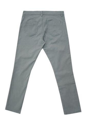 Da Donna 8-16 Nuovo Morbido cotone spazzolato Verde Jean Jegging Pantaloni Gamba 30 pollici