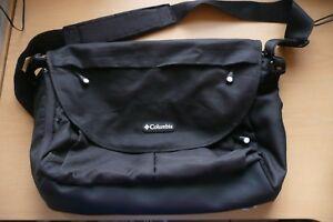 Columbia Black  Messenger Bag