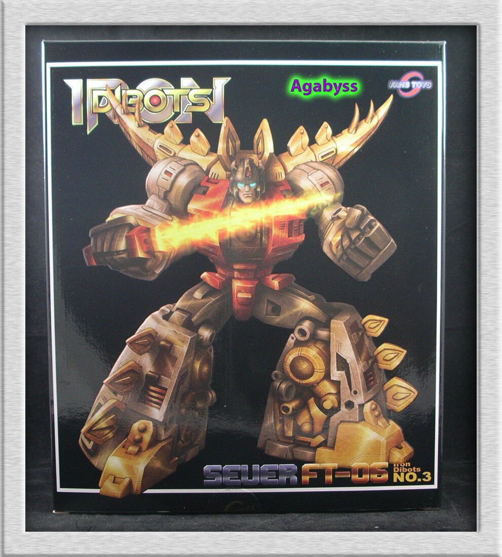 Transformers G1 Masterpiece Dinobot Snarl Fans Toys FT-06 Sever Reissue in USA