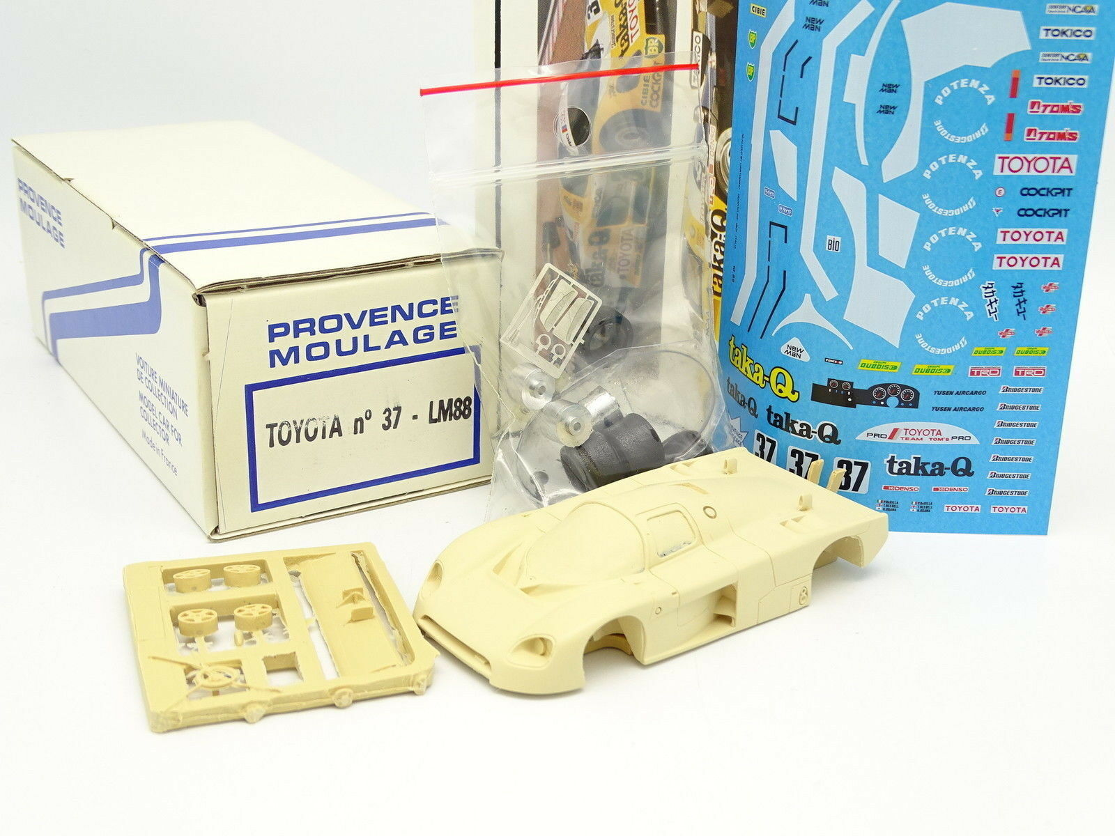 Provence Moulage Kit à Monter 1/43 - Toyota 87C Le Femmes 1988 N°37 | Pas Chers  | Dernière Arrivée  | Vogue  | 2019
