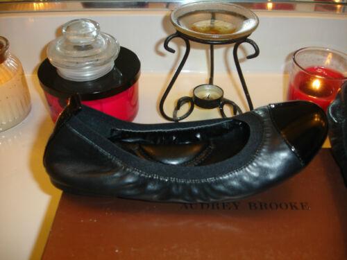 Scarpa da versatile piatta Brie nera in 110 6 Brooke balletto Audrey pelle Versatile nUzSHEWtx