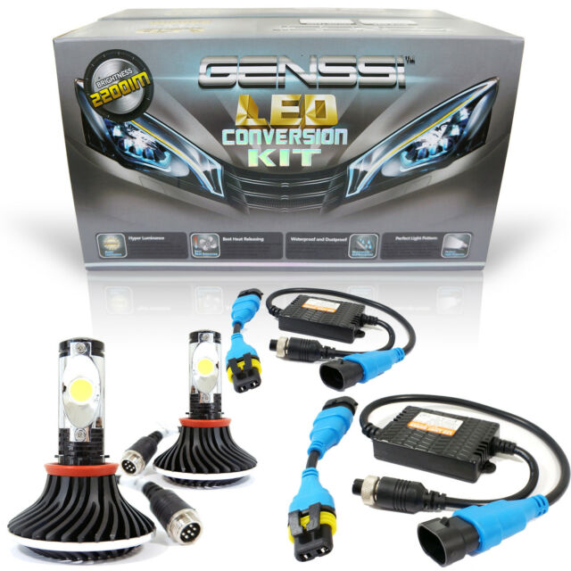 R3™ LED Conversion Kit Headlight Headlamp HID Upgrade 6000K 6K 9005 HB3