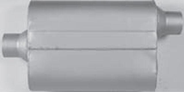 """VX2442 Universal 2 Dual Chamber Performance Muffler 2.25"""" Center / Offset"""