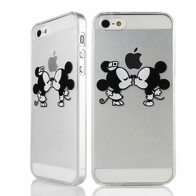 ★★★ Coque HOUSSE Iphone 4/4S/5c/5s/6/6 +   Mickey Disney Minnie love+Film OFFERT