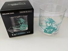 FF Final Fantasy VII 7 Remake Rock Glass Ichiban Kuji E set of 5 OBO DHL