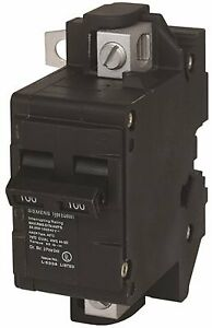 SIEMENS MBK125A MAIN CIRCUIT BREAKER, 125 AMP, FOR USE IN ULTIMATE TYPE LOAD CEN