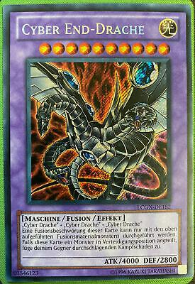 LCGX-DE181 Cyber End-Drache Secret Rare Yu-Gi-Oh NM Fusion Version 1, weiß