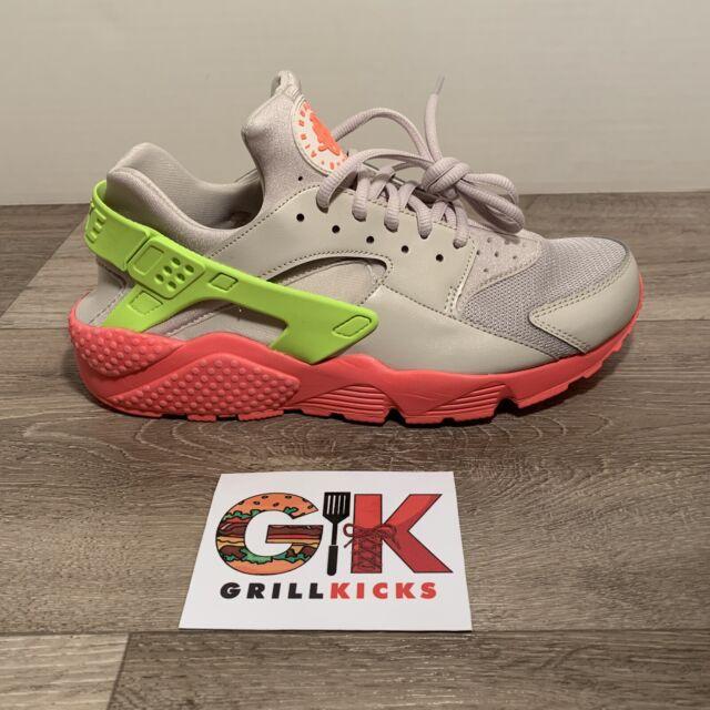 super popular cea2d a6a83 Nike Air Huarache Run Womens 634835-033 Desert Sand Volt Punch Shoes Size 10