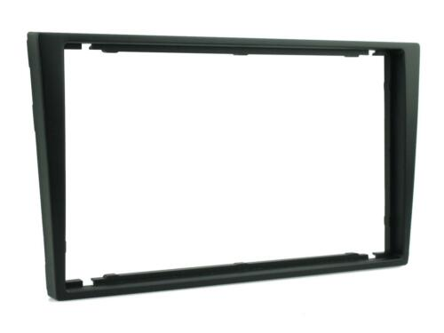 VAUXHALL COMBO BLACK DOUBLE DIN CD STEREO RADIO FACIA FASCIA PANEL SURROUND