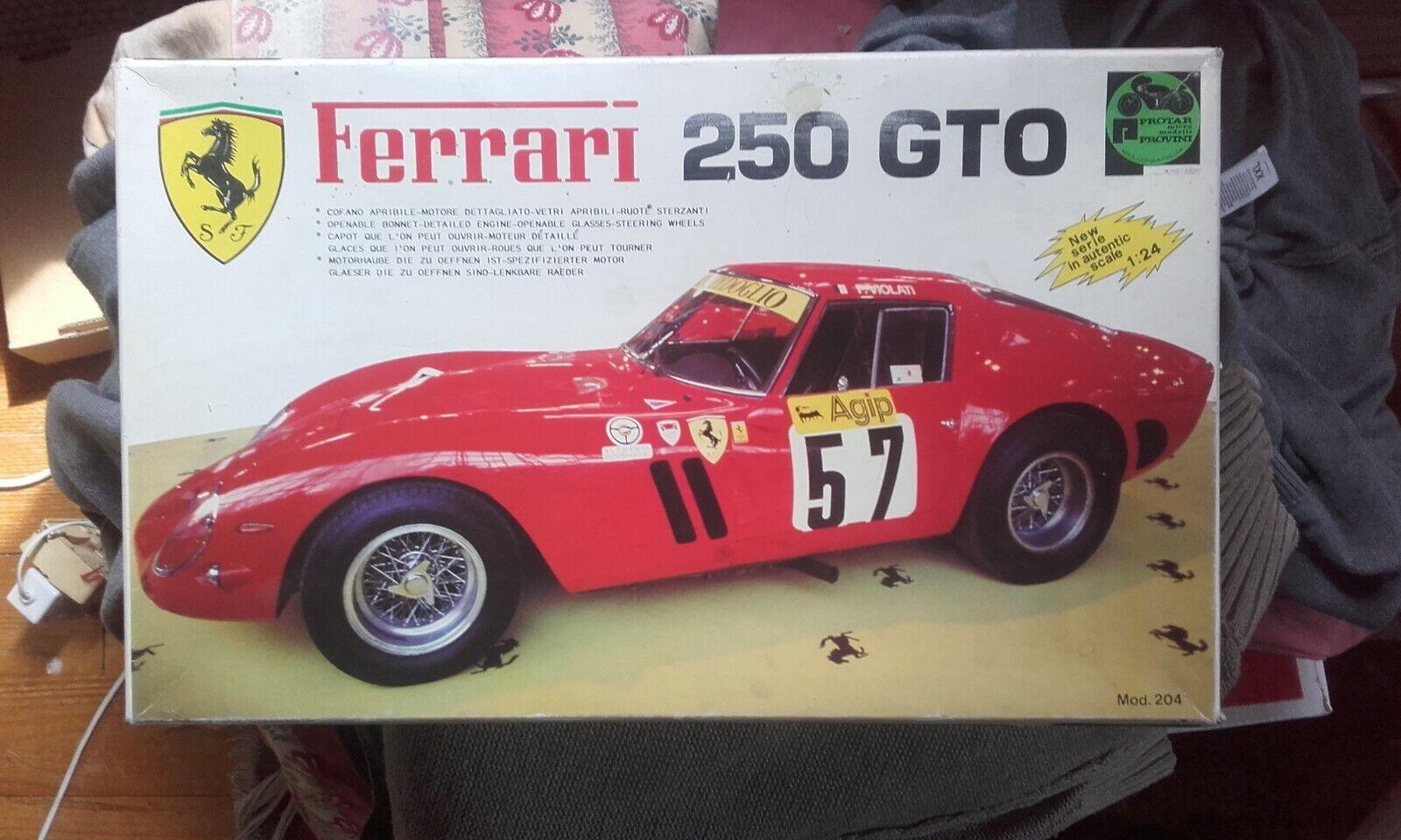 Ferrari 250 gto  1 24  maquette predar