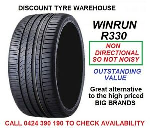 215-45R18-WINRUN-R330-93W-NON-DIRECTIONAL-TYRES-NEW-PICK-UP-BAYSWATER-VIC