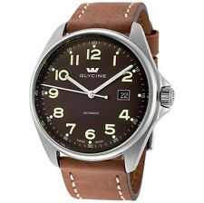 Glycine Combat 6 Dark Brown Dial Automatic Mens Watch 3890.17AT.LB7BH