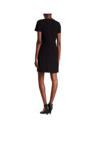 Tahari ASL Bi Stretch Shift Dress Black Sz 4 NWT  NEW MSRP $128