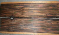 Ebony Marbled Wood Veneer 3x17