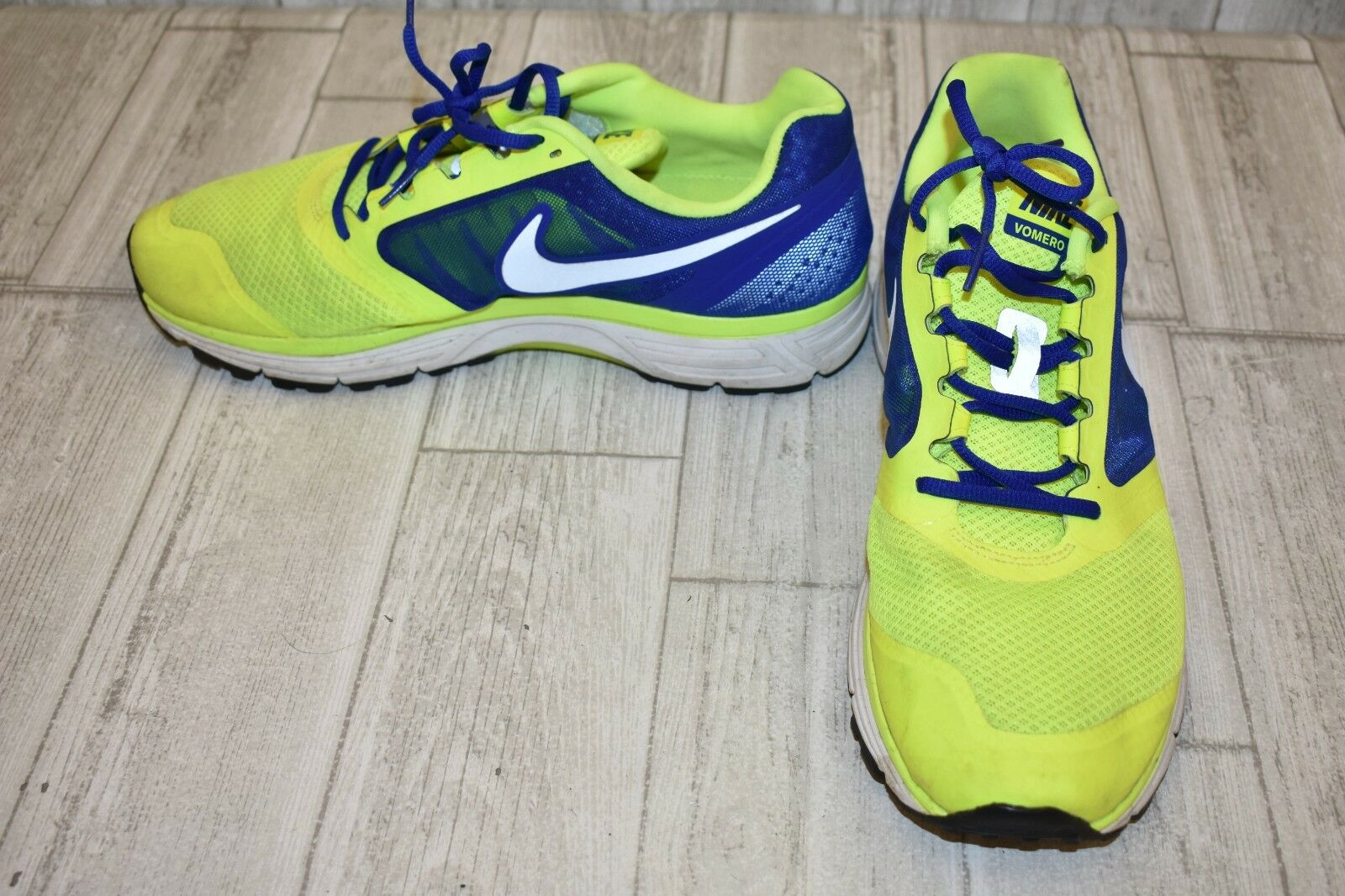 Nike Air Zoom Vomero 8 Uomo   Da Corsa, Uomo 8 Numero 12, Giallo / Blu 78d841