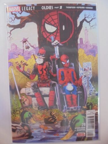 Spider-Man Deadpool #29 Marvel VF//NM Comics Book