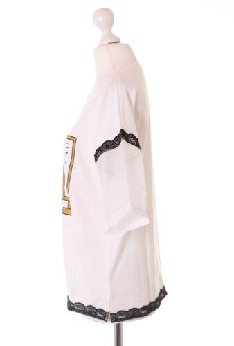 TP-161 Weiß Japan Fortune Glücks-Katze durchsichtige Ärmeln T-Shirt Kawaii Cat