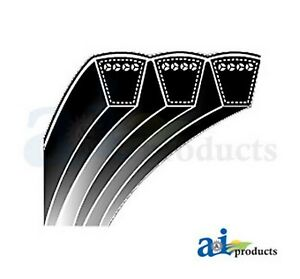 """A And I 5/8"""" X 127"""" B124/03 Classical Banded V-belt For Miscellaneous Machin"""