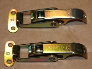 PAIR-OF-PROTEX-ADJUSTABLE-LATCHES-50-1535-AND-CATCHES-01-535