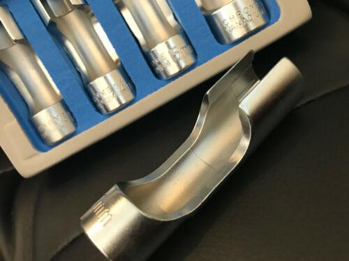 Difficult Access Socket Set Tool 3//8 Drive 10-19mm OXYGEN SENSORS IN FOAM HOLDER