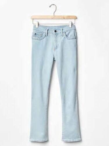 en somme S authentique pour 1969 Gap Jeans femmes épuisé 16 tressés tressé denim 200811 coupe W0wnPwO