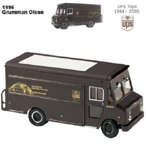 United Parcel Service UPS Replica 1996 P700 Grumman Olson Paquet Voiture Camion RL