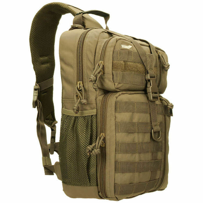Texar Shoulder Bag Military Style Outdoor OSB 22L MOLLE Coyote