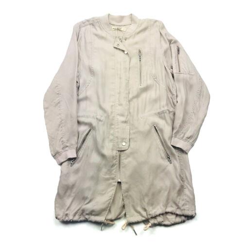Blank NYC Long Trench Coat  In Dusty Rose Women Si