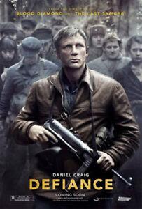 Defiance (Zweiseitig Advance) Original Filmposter