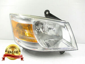 Passenger 2008-2010 Dodge Caravan Headlight OEM RH