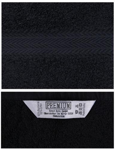 Betz 10 Stück Waschhandschuhe Waschlappen PREMIUM 16x21 cm dunkelrot /& schwarz