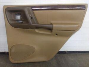 Jeep Grand Cherokee Zj Ltd Interior Door Trim Panel Right Rear With Switch 96 98 Ebay