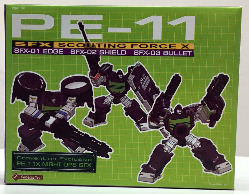 Perfect Effect PE-11 SFX SCOUTING FORCE X Camera Set Set Set Convention Exclusive 1204f6
