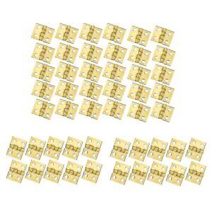 100-Pezzi-Mini-Cerniere-nel-Ottone-Hardware-Rotazione-di-180-Gradi-per-Arma-E4L3
