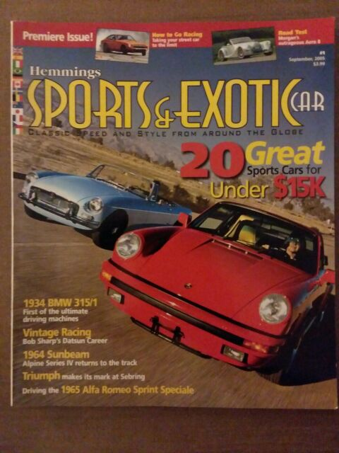 hemmings sports and exotic car index