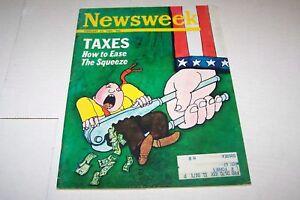 FEB 24 1969 NEWSWEEK magazine TAXES