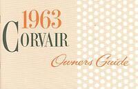 1963 Corvair Owners Manual