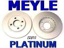 Brake ROTORS Discs Set MEYLE BMW E30 3-series 318 i is 325 ix Convertible NEW