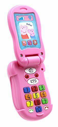 Peppa Pig PP06Flip und Lernen Handy elektronisches Spielzeug