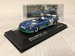 Matra-MS-670-B-1-43-Geschenk-Modellauto-24h-Le-Mans-Modelcar-Rennwagen-Spielzeug