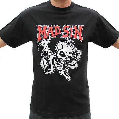 Mad Sin Psychobilly Band Graphic T-Shirts