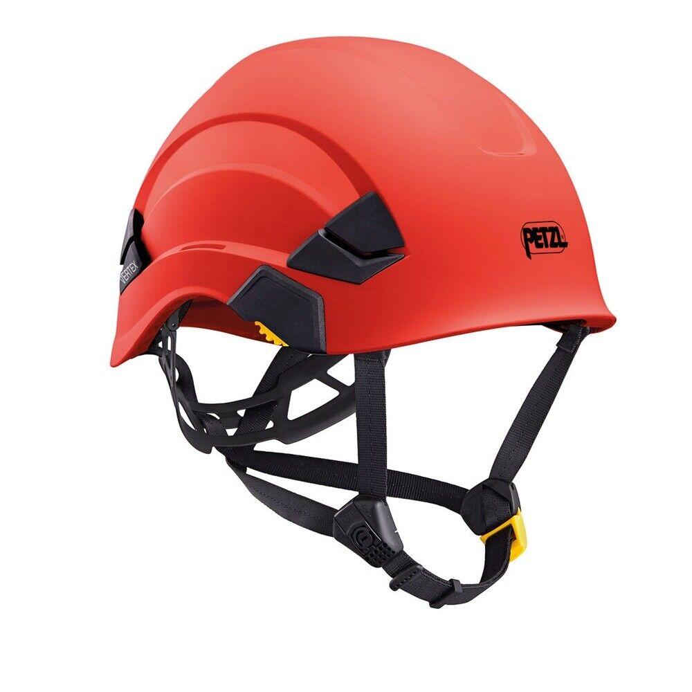 Petzl greenEX Climbing Rescue Rope Access Red Helmet EasyClip ANSI OSHA 2019